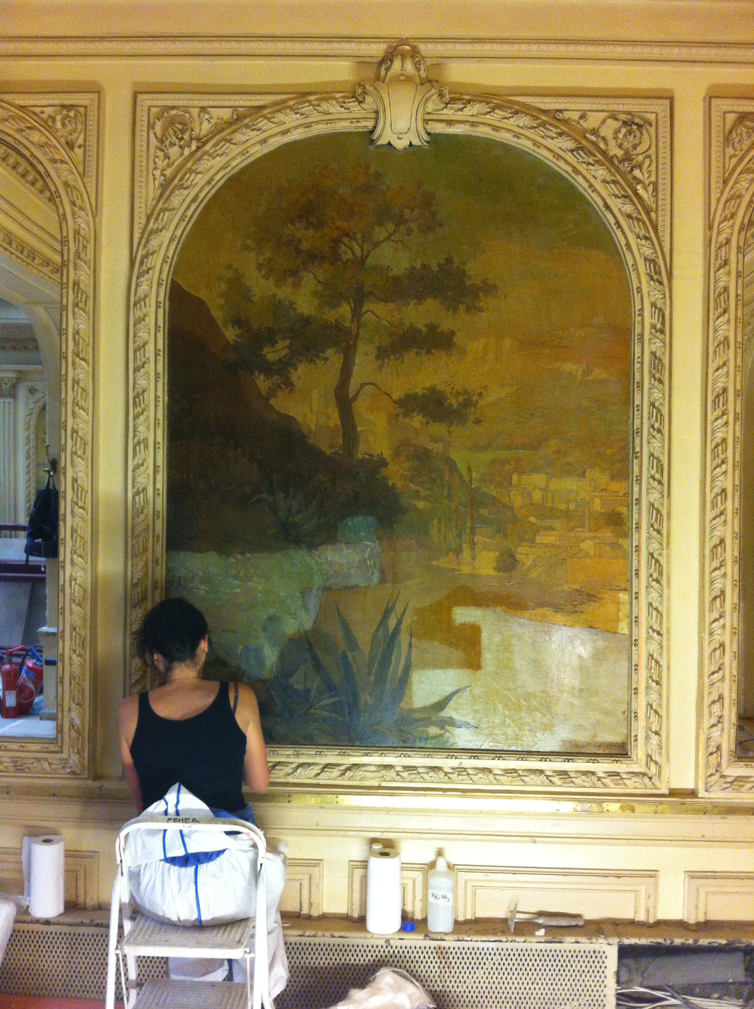 Salon de th angelina rue de rivoli paris atelier for Salon restauration paris