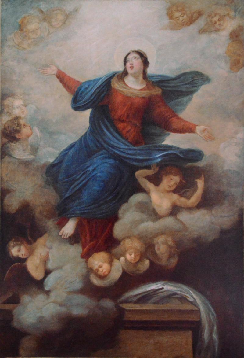 Scène religieuse après restauration